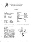 Colorado Native Plant Society Newsletter, Vol. 1 No. 3, May-June 1977