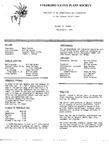 Colorado Native Plant Society Newsletter, Vol. 2 No. 2, March-April 1978