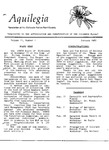 Aquilegia, Vol. 11 No. 1, January 1987: Newsletter of the Colorado Native Plant Society