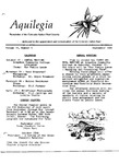 Aquilegia, Vol. 11 No. 5, September 1987: Newsletter of the Colorado Native Plant Society