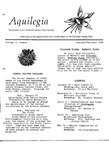 Aquilegia, Vol. 12 No. 1, January-February 1988: Newsletter of the Colorado Native Plant Society