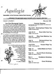 Aquilegia, Vol. 12 No. 3, May-June 1988: Newsletter of the Colorado Native Plant Society