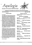 Aquilegia, Vol. 13 No. 2, March-April 1989: Newsletter of the Colorado Native Plant Society