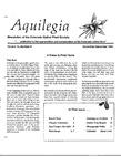 Aquilegia, Vol. 13 No. 6, November-December 1989: Newsletter of the Colorado Native Plant Society