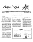 Aquilegia, Vol. 14 No. 1, January-February 1990: Newsletter of the Colorado Native Plant Society