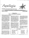 Aquilegia, Vol. 14 No. 2, March-April 1990: Newsletter of the Colorado Native Plant Society