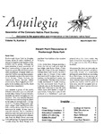 Aquilegia, Vol. 15 No. 2, March-April 1991: Newsletter of the Colorado Native Plant Society