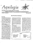Aquilegia, Vol. 15 No. 3, May-June 1991: Newsletter of the Colorado Native Plant Society