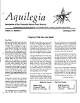 Aquilegia, Vol. 15 No. 4, July-August 1991: Newsletter of the Colorado Native Plant Society