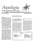 Aquilegia, Vol. 15 No. 5, September-October 1991: Newsletter of the Colorado Native Plant Society