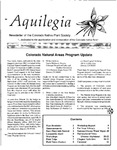 Aquilegia, Vol. 17 No. 1, January-March 1993: Newsletter of the Colorado Native Plant Society