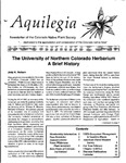 Aquilegia, Vol. 18 No. 3, May-June 1994: Newsletter of the Colorado Native Plant Society