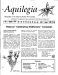 Aquilegia, Vol. 19 No. 1, January-March 1995: Newsletter of the Colorado Native Plant Society