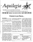 Aquilegia, Vol. 19 No. 3, July-September 1995: Newsletter of the Colorado Native Plant Society
