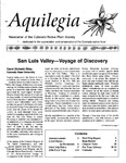Aquilegia, Vol. 20 No. 2, April-June 1996: Newsletter of the Colorado Native Plant Society