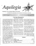 Aquilegia, Vol. 22 No. 4, July-August 1998: Newsletter of the Colorado Native Plant Society