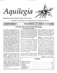 Aquilegia, Vol. 22 No. 5, September-October 1998: Newsletter of the Colorado Native Plant Society