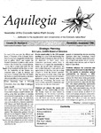 Aquilegia, Vol. 22 No. 6, November-December 1998: Newsletter of the Colorado Native Plant Society