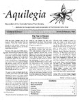 Aquilegia, Vol. 23 No. 1, January-February 1999: Newsletter of the Colorado Native Plant Society