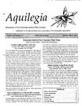 Aquilegia, Vol. 23 No. 2, March-April 1999: Newsletter of the Colorado Native Plant Society by Leo P. Bruederle, Rick Brune, Janet L. Wingate, Kris Meiring, and Carolyn Crawford