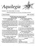 Aquilegia, Vol. 26 No. 2, March-April 2002: Newsletter of the Colorado Native Plant Society