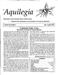 Aquilegia, Vol. 26 No. 4, July-August 2002: Newsletter of the Colorado Native Plant Society