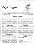 Aquilegia, Vol. 27 No. 1, January-February 2003: Newsletter of the Colorado Native Plant Society