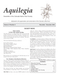 Aquilegia, Vol. 27 No. 5, November-December 2003: Newsletter of the Colorado Native Plant Society