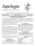 Aquilegia, Vol. 30 No. 2, April-May 2006: Newsletter of the Colorado Native Plant Society by Alice Guthrie, Steve Yarbrough, and Ken Keefover-Ring