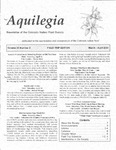 Aquilegia, Vol. 28 No. 2, March-April 2004: Newsletter of the Colorado Native Plant Society