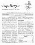 Aquilegia, Vol. 30 No. 1, January-February 2006: Newsletter of the Colorado Native Plant Society