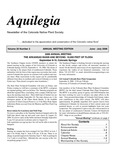 Aquilegia, Vol. 30 No. 3, June-July 2006, Newsletter of the Colorado Native Plant Society by Alice Guthrie, del Rio Cristina Rumbaitis, and Neil Ph.D. Snow
