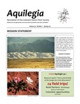 Aquilegia, Vol. 35 No. 1, Spring 2011, Newsletter of the Colorado Native Plant Society