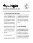 Aquilegia, Vol. 35 No. 2, Summer 2011, Newsletter of the Colorado Native Plant Society by Bob Henry and Steve Popovich