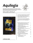 Aquilegia, Vol. 37 No. 2 - Special Issue, 2013, Newsletter of the Colorado Native Plant Society