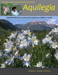Aquilegia, Vol. 37 No. 5, Fall 2013, Newsletter of the Colorado Native Plant Society
