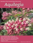 Aquilegia, Vol. 38 No. 5 - Winter 2014, Newsletter of the Colorado Native Plant Society