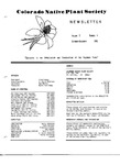 Colorado Native Plant Society Newsletter, Vol. 6 No. 1, January-March 1982