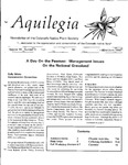 Aquilegia, Vol. 16 No. 3, May-June 1992: Newsletter of the Colorado Native Plant Society