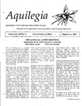 Aquilegia, Vol. 22 No. 3, May-June 1998: Newsletter of the Colorado Native Plant Society