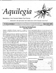 Aquilegia, Vol. 23 No. 3, May-June 1999: Newsletter of the Colorado Native Plant Society