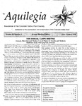 Aquilegia, Vol. 23 No. 4, July-August 1999: Newsletter of the Colorado Native Plant Society