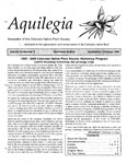 Aquilegia, Vol. 23 No. 5, September-October 1999: Newsletter of the Colorado Native Plant Society