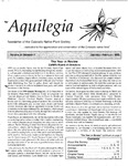 Aquilegia, Vol. 24 No. 1, January-February 2000: Newsletter of the Colorado Native Plant Society