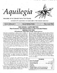 Aquilegia, Vol. 24 No. 3, May-June 2000: Newsletter of the Colorado Native Plant Society by Leo P. Bruederle, Neil Snow, Gay Austin, Alice Guthrie, Brian Elliott, Shannon Kuchel, and Janet L. Wingate