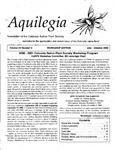 Aquilegia, Vol. 24 No. 4, July-October 2000: Newsletter of the Colorado Native Plant Society