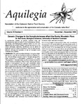 Aquilegia, Vol. 24 No. 5, November-December 2000: Newsletter of the Colorado Native Plant Society