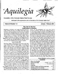 Aquilegia, Vol. 25 No. 1-2, January-February 2001: Newsletter of the Colorado Native Plant Society