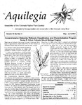 Aquilegia, Vol. 25 No. 4, May-June 2001: Newsletter of the Colorado Native Plant Society