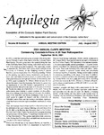 Aquilegia, Vol. 25 No. 5, July-August 2001: Newsletter of the Colorado Native Plant Society by Tina Jones, Rob Udall, Myrna P. Steinkamp, Tamara Naumann, Sally White, Bobbie Henig, and Janet Wingate